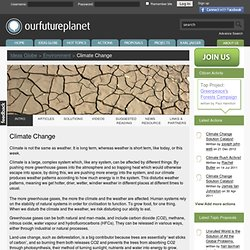 Climate Change - Our Future Planet