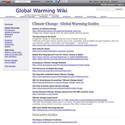 Global Warming Wiki: Climate Change - Global Warming Guides
