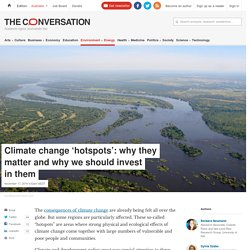 *Climate change hotspots