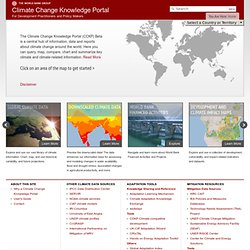 Climate Change Knowledge Portal 2.0