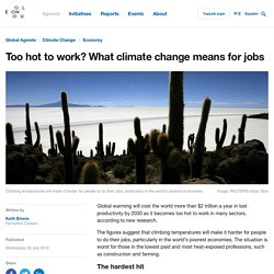 $2tn A Year In Lost Productivity Due To Climate Change