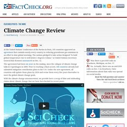 Climate Change Review