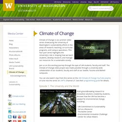 UW Sustainability