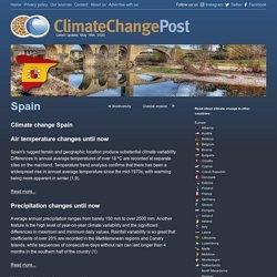 Climate change - Spain - Climatechangepost.com