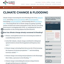 Climate Change & Flooding