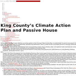 Where is Passive House in King County's Climate Action Plan