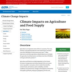 #6 Climate Impacts on Agriculture and Food Supply