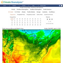 The Climate Reanalyzer