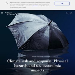 Climate risk and response