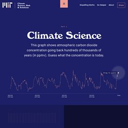 Climate Science - Climate Science, Risk & Solutions