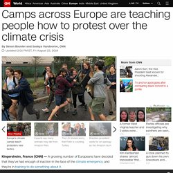 Climate change camps are training a new wave of eco-warriors
