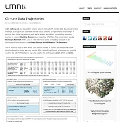Climate Data Trajectories