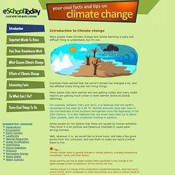Climate Change and Global Warming for Children