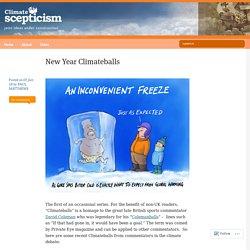 New Year Climateballs