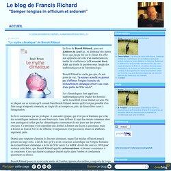 """""""Le mythe climatique"""" de Benoît Rittaud"""