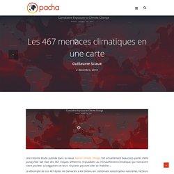 Les 467 menaces climatiques en une carte - Pacha cartographie