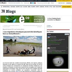 «Les migrations climatiques peuvent être bénéfiques face au réchauffement»