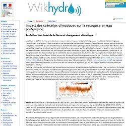Impact des scénarios climatiques sur la ressource en eau souterraine