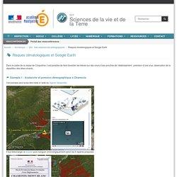 Risques climatologiques et Google Earth