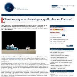 Climatosceptiques et climatologues, quelle place sur l'internet?