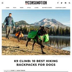 K9 Climb: 10 Best Hiking Backpacks For Dogs