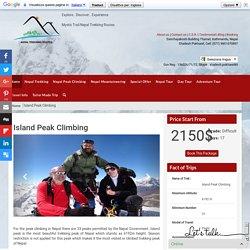 Island Peak Climbing - Nepal Trekking - Peak Climbing - Mountaineering