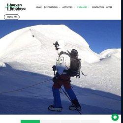 Climb with a Sherpa Guide - Heaven Himalaya