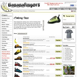 Climbing Shoes | BananaFingers