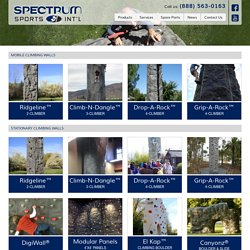 Climbing Walls - Spectrum Sports Int'l