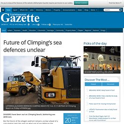Future of Climping's sea defences unclear