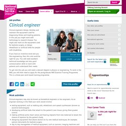 Clinical engineer Job Information