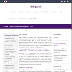 Clinical Trial Data Management Software (CTMS) By ArisGlobal