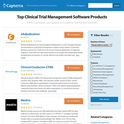Best Clinical Trial Management Software