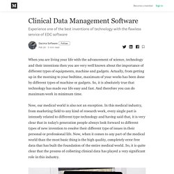 clinical patient registry software