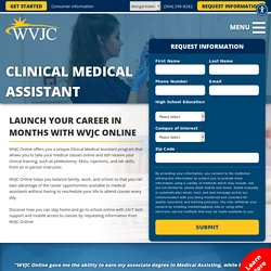 Clinical Medical Assistant Online