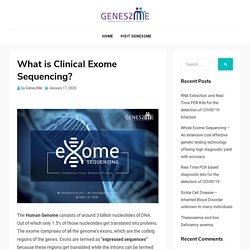 Clinical exome sequencing using next generation sequencing in India