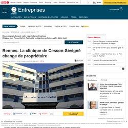 Rennes. La clinique de Cesson-Sévigné change de propriétaire