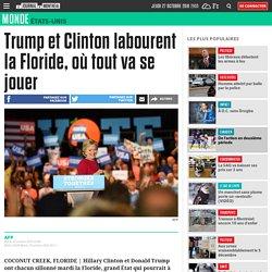 Trump et Clinton labourent la Floride, où tout va se jouer