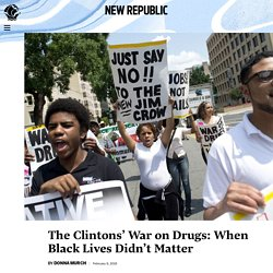 The Clintons' War on Drugs: When Black Lives Didn't Matter