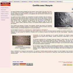 Conflits avec l'Assyrie