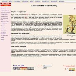 Les Sarmates (Sauromates)