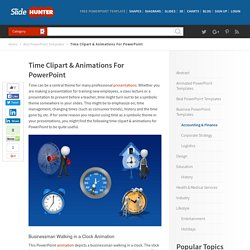 Time Clipart & Animations For PowerPoint