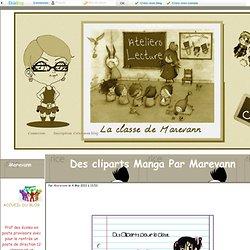 Cliparts Manga pour la classe, Marevann