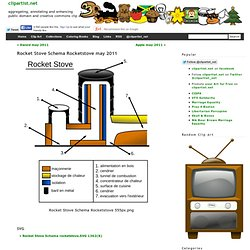 Clip Art » Rocket Stove Schema Rocketstove may 2011