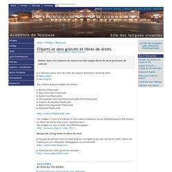 Cliparts et sons gratuits et libres de droits - [English website of the Académie de Toulouse]
