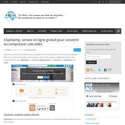 Clipchamp, service en ligne gratuit pour convertir ou compresser une vidéo