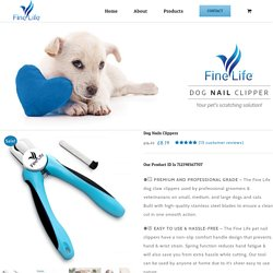 Dog Nails Clippers, Professioanl Dog Nail Cutters From £6.99