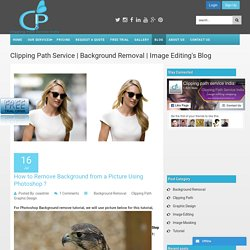 Clipping path service india Blog post