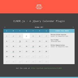 CLNDR.js