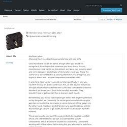 Clock Parts.com